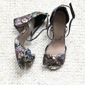 Asos brocade heels